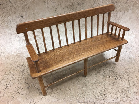Vintage Deacon's Bench