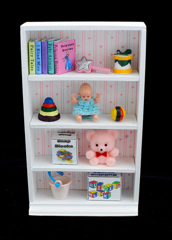 Toy Cabinet, Girls Room