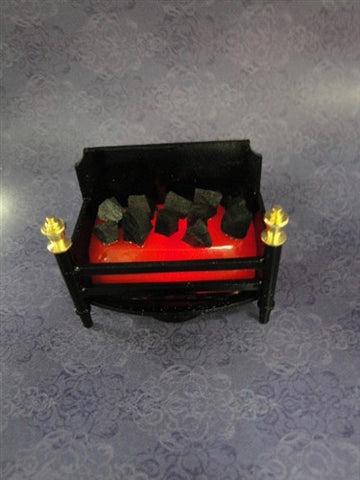 LED Battery Powered Fireplace Insert