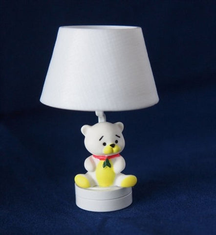 Nursery Lamp, Teddy Bear Style, LED Battery Operated