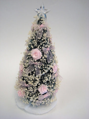 Christmas Tree, Pink Rose Victorian