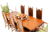 Spanish Jacobean Grand Dining Room Set ON SALE