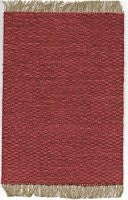Woven Area Rug, Red Rust