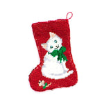 Christmas Stocking with Kitten