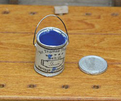 Open Paint Can with Lid