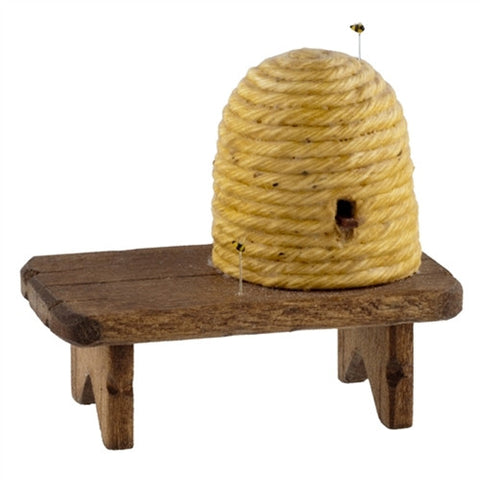 Bee Hive on Bench