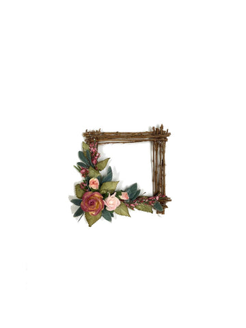 Square Rose Wreath