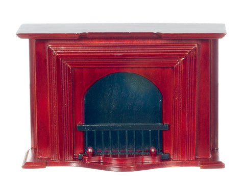 Fireplace, Mahogany