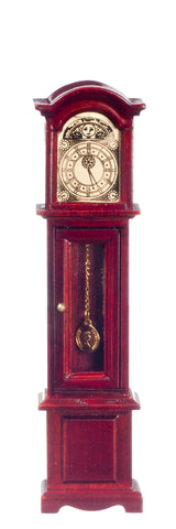 Grandfather Clock, Mahogany, Glass Door