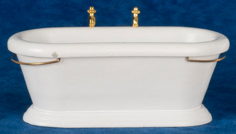 Old Fashioned Bathtub with Center Faucets