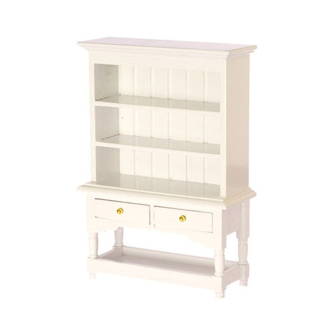 Hutch, Country Style, White Back in Stock