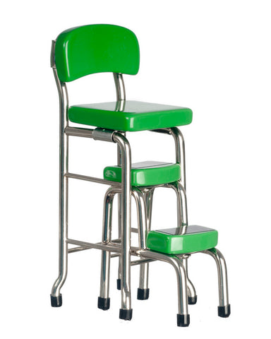 251 & Kitchen Step Stool Lime Green
