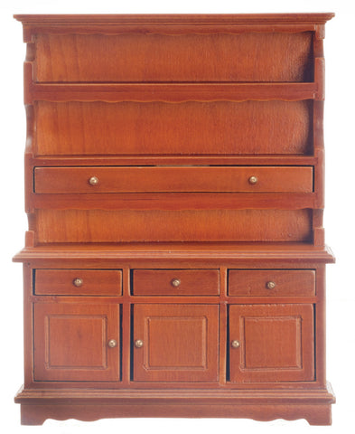 Hutch, Walnut Finish