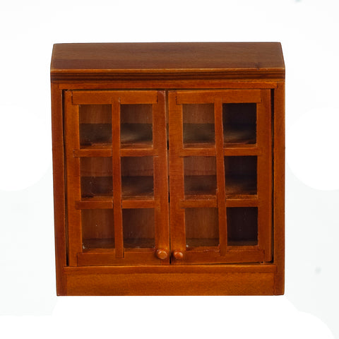 Upper Kitchen Cabinet, Walnut