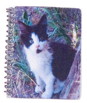 Spiral Notebook with Kitty