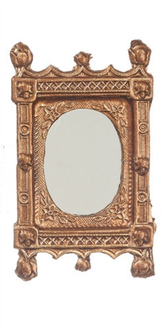 Ornate Mirror, Gold