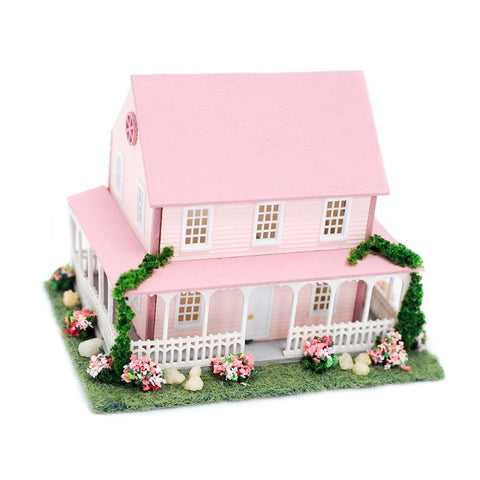 1/144th Scale Dollhouse, Pink