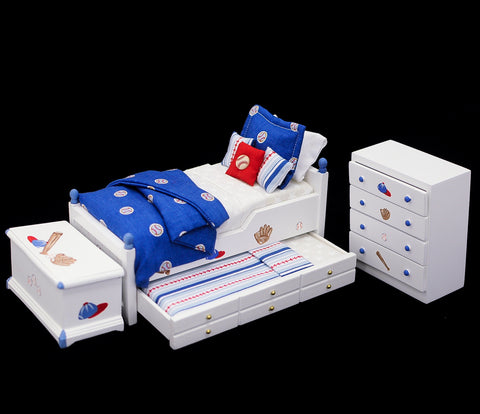 Baseball Themed Bedroom Set