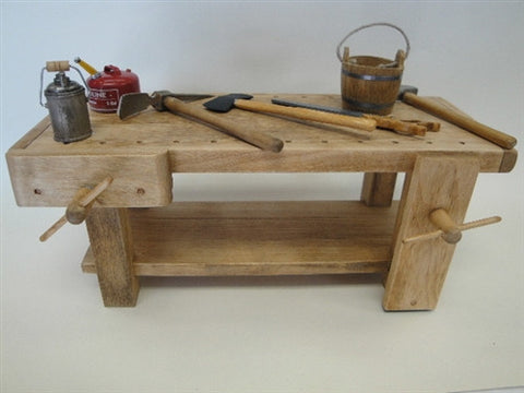 Work Bench, Wooden, Hand Crafted