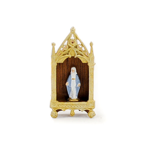 Shrine with Madonna, Lighted