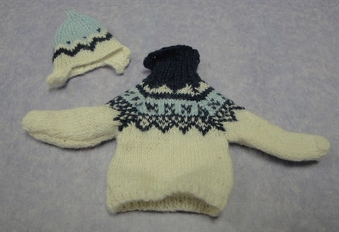 Knitted Sweater and Hat Set by Taller Targioni