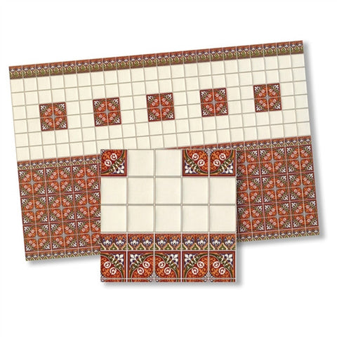 1:24 Scale Wall Tile Sheet