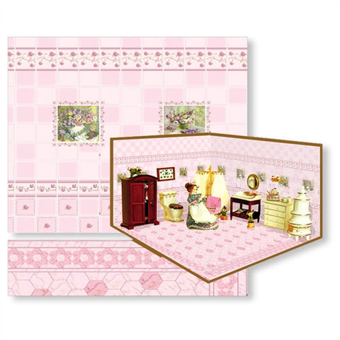 Complete Room Kit, Pink Tile