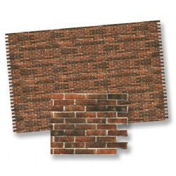 Dark Brick Wall Material