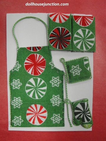Holiday Apron Set, Assorted