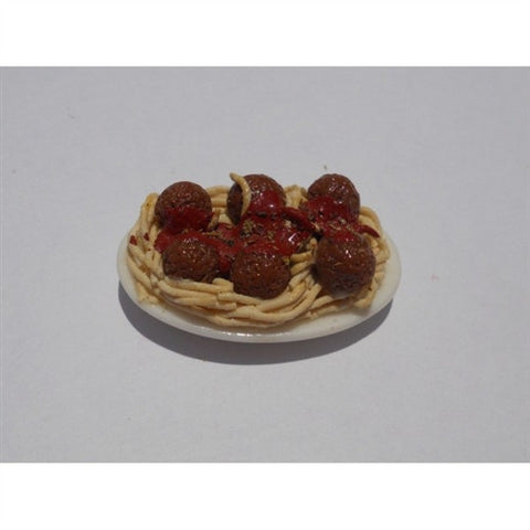 Spaghetti and Meatballs Platter