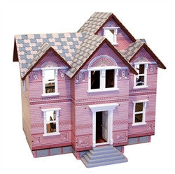 Assembled Melissa and Doug Victorian Dollhouse - In store pick up only.