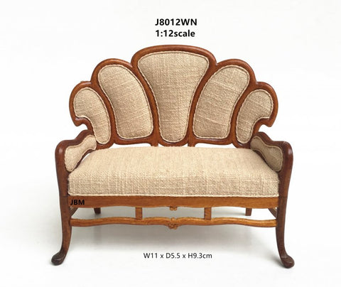 Art Nouveau Sofa by JBM Miniatures