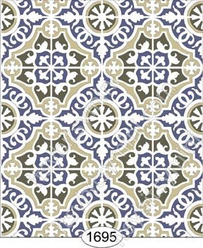 Decorative Tile 1695 Wallpaper