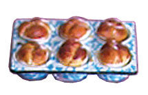 Cloverleaf Rolls in Baking Pan