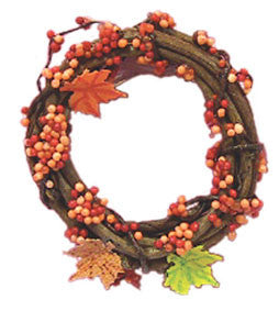 Bittersweet Fall Wreath  SOLD  OUT