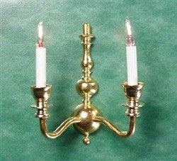 Colonial Double Wall Sconce