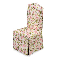 Covered Dining Chair, Chintz Floral