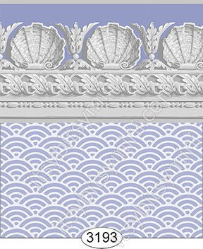 Jolie Shell Lavender Purple Wallpaper
