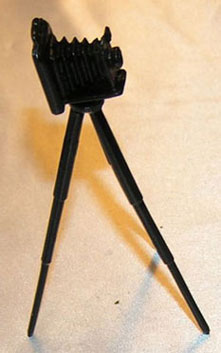 Camera On Tripod, Old Fashioned