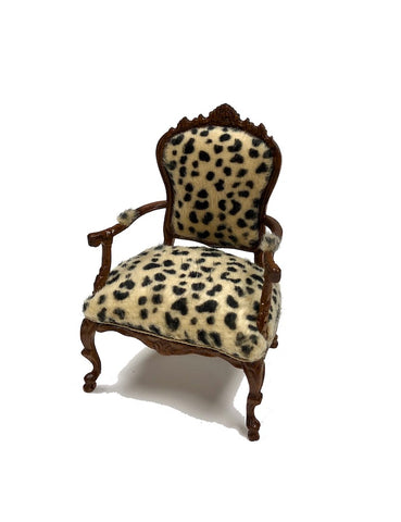 Leopard Arm Chair