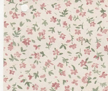 Tiny Pink Flowers Prepasted Wallpaper