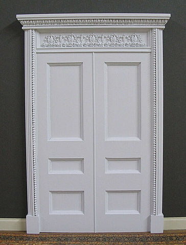 Double French Door, Resin