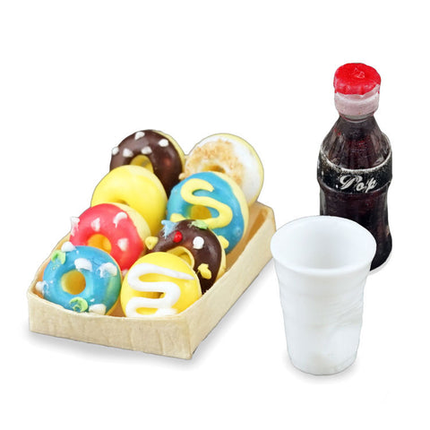 Reutter Donut and Soda Set