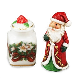 Santa Cookie Jar Set