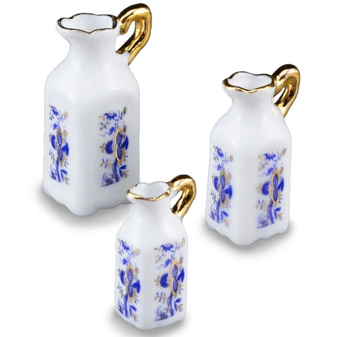 Blue Onion Tall Pitcher Set