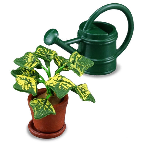 House Plant & Watering Can Set