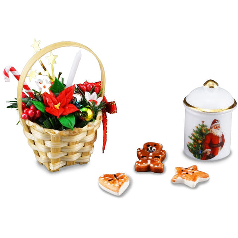 Christmas Cookie & Basket Set
