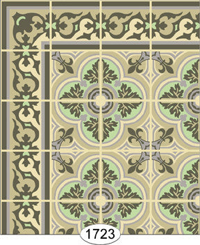 Decorative Tile 1723