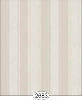 Wallpaper Rose Hill Stripe Grey Beige