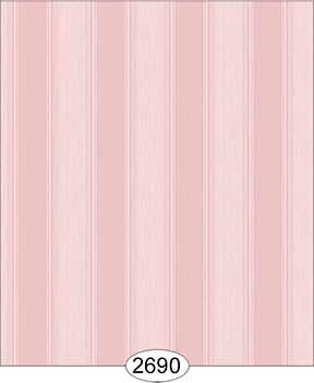 Wallpaper Rose Hill Stripe Pink